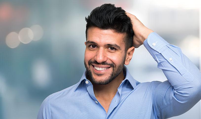 Hårtransplantation för män